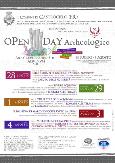 Open Day Archeologico